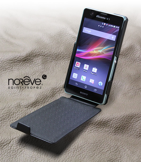 Noreve Perpetual Selection レザーケース for Xperia (TM) A SO-04E