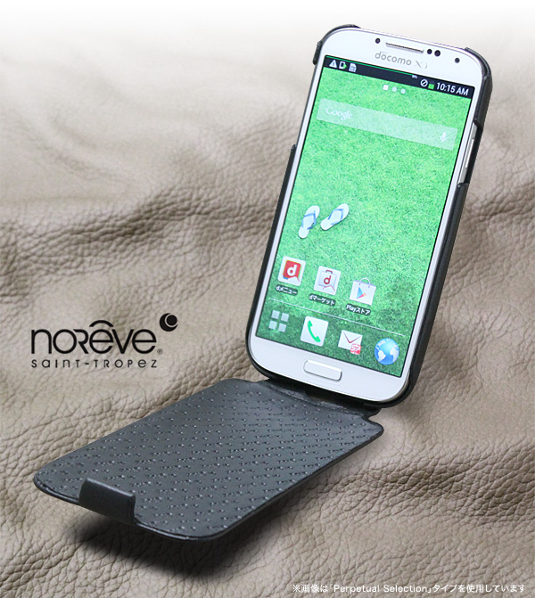 Noreve レザーケース for GALAXY S4 SC-04E