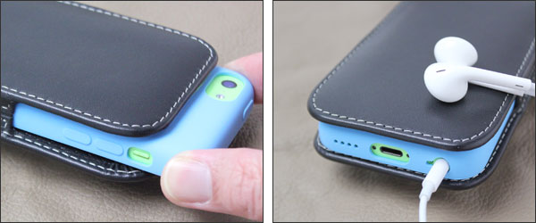 9353b6f947 株式会社ミヤビックス - PDAIR レザーケース for iPhone 5c with Case ...