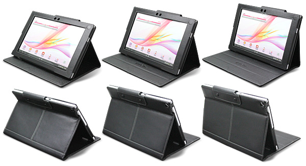 PDAIR レザーケース for Xperia Tablet Z SO-03E 横開きタイプ Ver.2