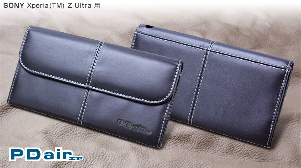 PDAIR レザーケース for Xperia Z Ultra ビジネスタイプ