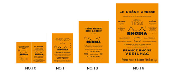 THE bloc memo History of RHODIA