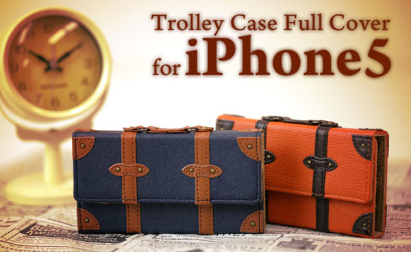 SINRA DESIGN WORKS Trolley Case トローリーケース フルカバータイプ for iPhone 5