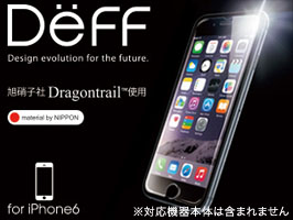 High Grade Glass Screen Protector for iPhone 6(Dragontrail 表面)