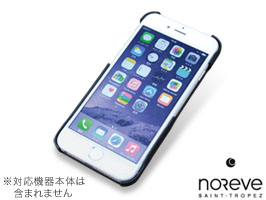 Noreve Perpetual Selection レザーバックカバー for iPhone 6(ブラック)