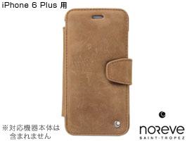 Noreve Exceptional Selection レザーケース for iPhone 6 Plus 横開きタイプ(背面スタンド機能付)