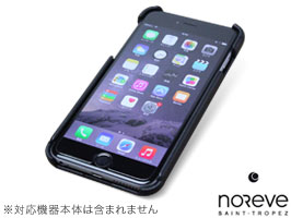 Noreve Perpetual Selection レザーバックカバー for iPhone 6 Plus(ブラック)