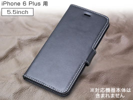 PDAIR レザーケース for iPhone 6 Plus 横開きタイプ