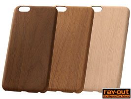 USLiM STYLISH LEATHER(木目調) for iPhone 6 Plus