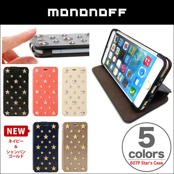 mononoff 607P Star's Case for iPhone6 Plus