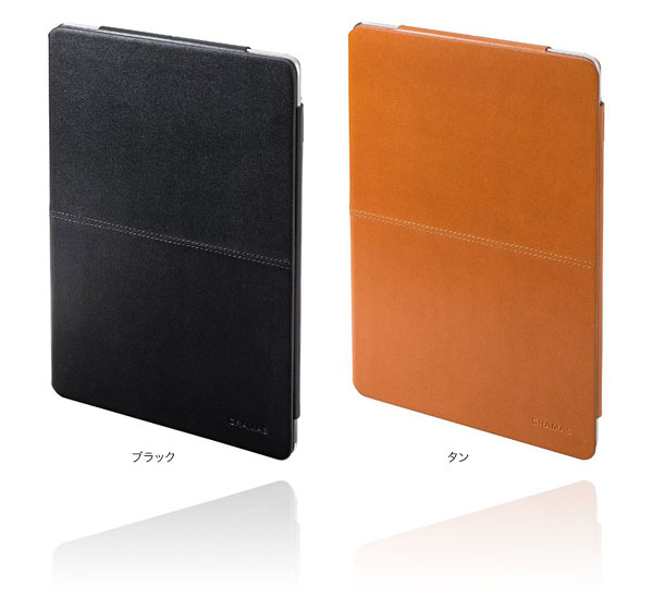 カラー GRAMAS TC494 Tablet Leather Case for iPad Air