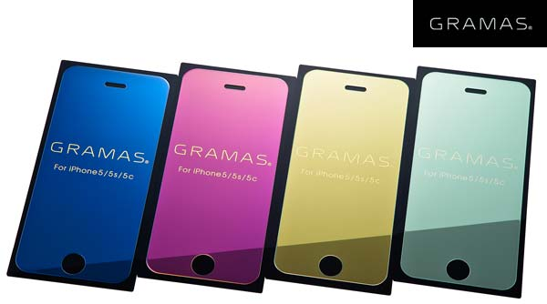 GRAMAS EXTRA Mirror Glass for iPhone 5s/5c/5