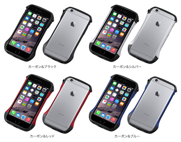 カラー CLEAVE Hybrid Bumper for iPhone 6