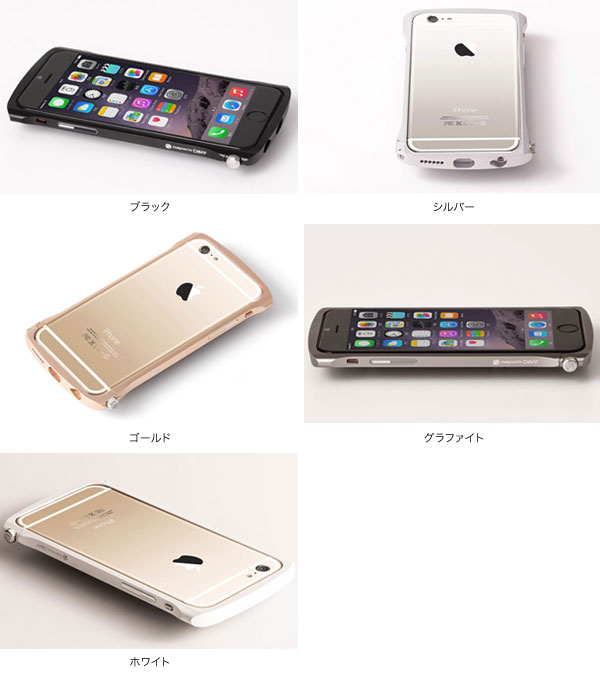 カラー CLEAVE Chrono Aluminum Bumper for iPhone 6