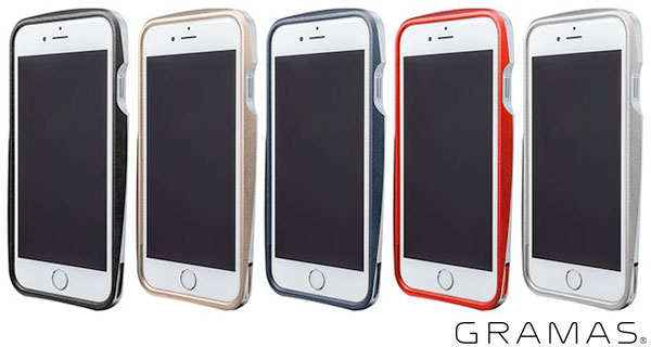 GRAMAS Round Metal Bumper MB524 for iPhone 6