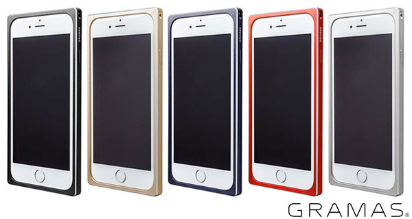 GRAMAS Straight Metal Bumper MB514 for iPhone 6