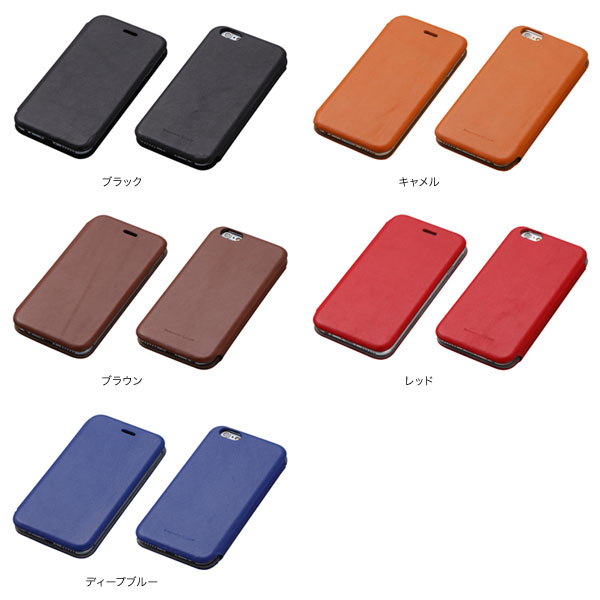 カラー Genuine Leather Cover MASK for iPhone 6