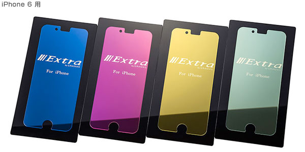 Extra by GRAMAS Mirror Glass EXIP6M for iPhone 6