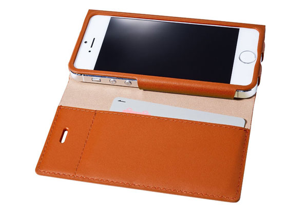 GRAMAS LC624 One Sheet Leather Case for iPhone 5s/5