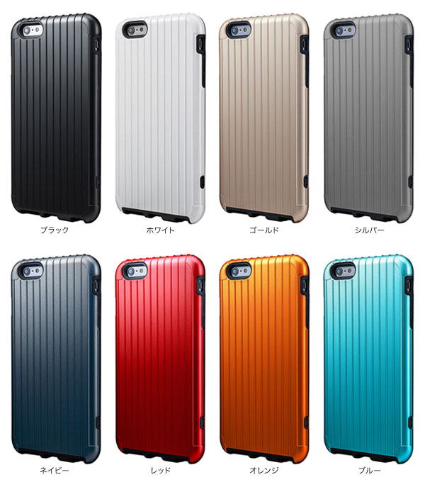 カラー GRAMAS PRECISION Hybrid Case SL344 for iPhone 6 Plus