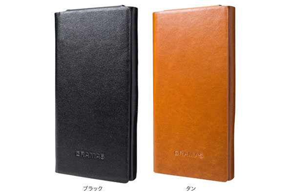 カラー GRAMAS LCZX1 One Sheet Leather Case for ウォークマン ZX1