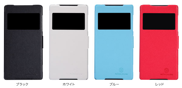 カラー Nillkin Fresh S-View Case for Xperia (TM) Z2 SO-03F