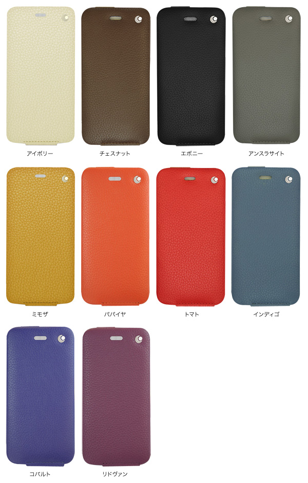 カラー Noreve Selection レザーケース for iPhone 6