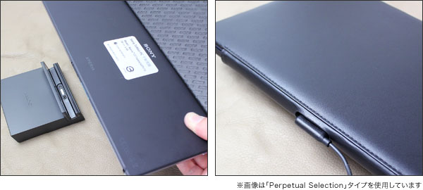 Noreve Perpetual Couture Selection レザーケース for Xperia (TM) Z2 Tablet