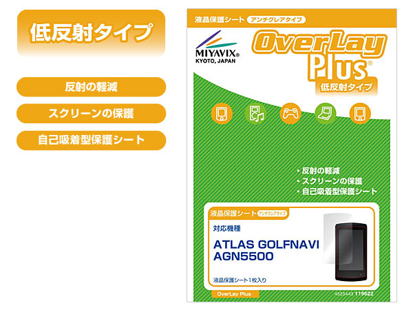 OverLay Plus for ATLAS GOLFNAVI AGN5500