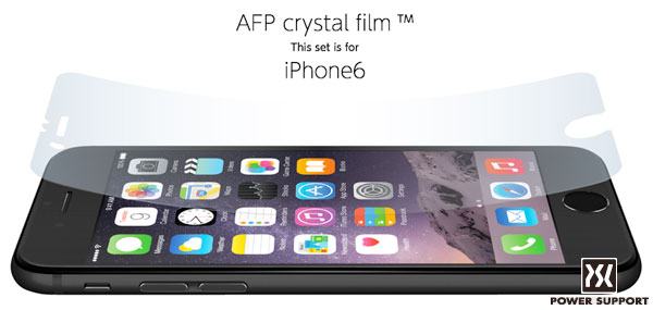 AFPクリスタルフィルムセット for iPhone 6