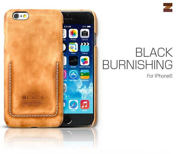 Zenus Black Burnishing Brown for iPhone 6