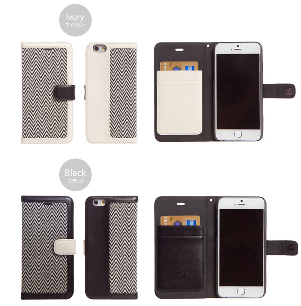 Zenus Herringbone Diary for iPhone 6