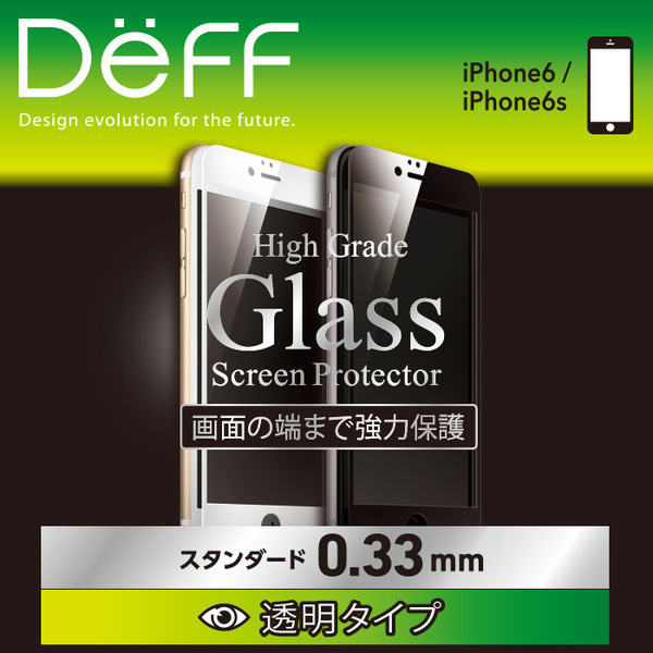 High Grade Glass Screen Protector Full Front 0.33mm for iPhone 6s/6