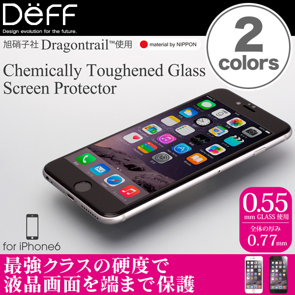 Chemically Toughened Glass Screen Protector for iPhone 6