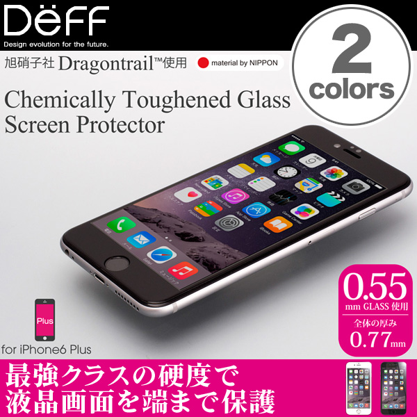 Chemically Toughened Glass Screen Protector for iPhone 6 Plus