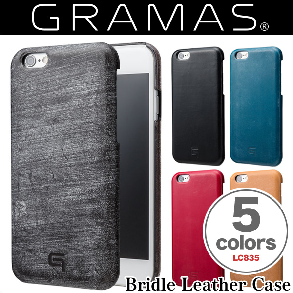 GRAMAS Bridle Leather Case LC835 for iPhone 6s/6