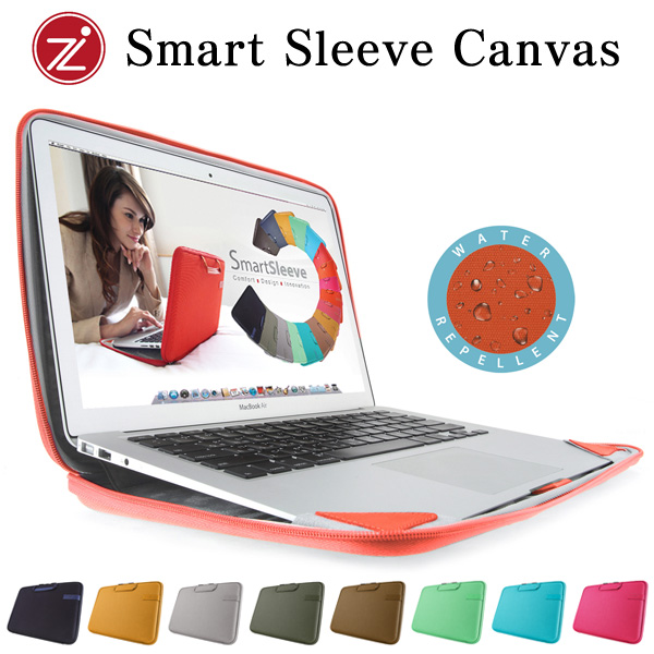 Cozistyle Canvas Smart Sleeve for MacBook Air 11インチ(Early 2015/Early 2014/Mid 2013/Mid 2012/Mid 2011/Late 2010)/MacBook 12インチ