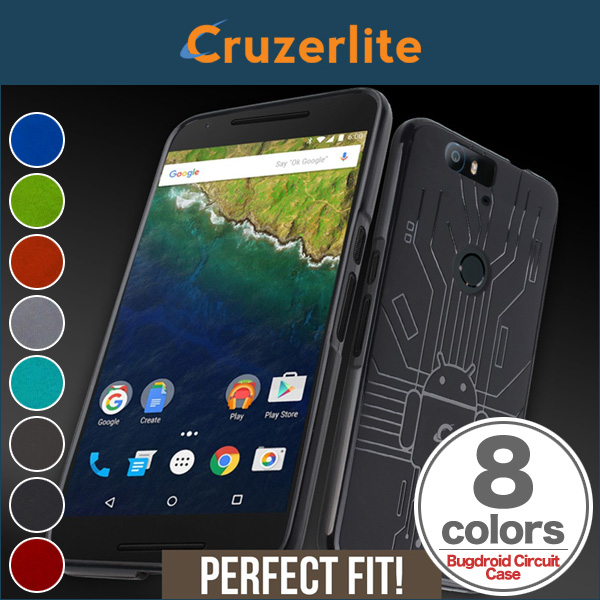 Cruzerlite Bugdroid Circuit Case for Nexus 6P