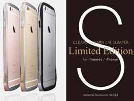 CLEAVE Aluminum Bumper Limited Edition for iPhone 6s/6