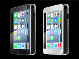 EXTRA by GRAMAS Ultimate Full Cover Glass set EXIP6FCPC for iPhone 6
