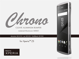 CLEAVE Aluminum Bumper Chrono for Xperia (TM) Z5 SO-01H / SOV32 / 501SO