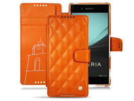 Noreve Tentation Tropezienne Couture Selection レザーケース for Xperia (TM) Z4 SO-03G/SOV31/402SO 横開きタイプ(背面スタンド機能付)