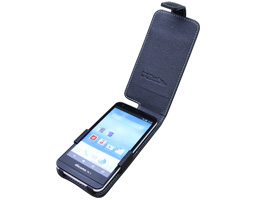 PDAIR レザーケース for AQUOS SH-M01/AQUOS PHONE EX SH-02F 縦開きタイプ