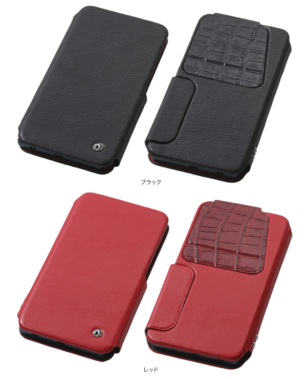 カラー Multi Genuine Leather Case Mサイズ for 5.2インチ