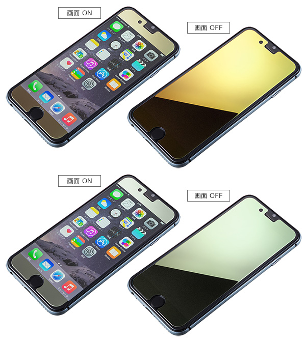 Protection Mirror Glass for iPhone 6s/iPhone 6