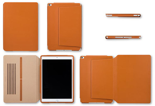 GRAMAS Leather Case TC495 for iPad Air 2