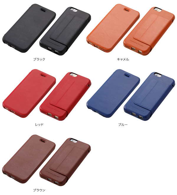 カラー Genuine Leather Case for iPhone 6