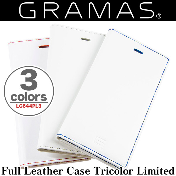 GRAMAS Full Leather Case Tricolor Limited LC644PL3 for iPhone 6 Plus