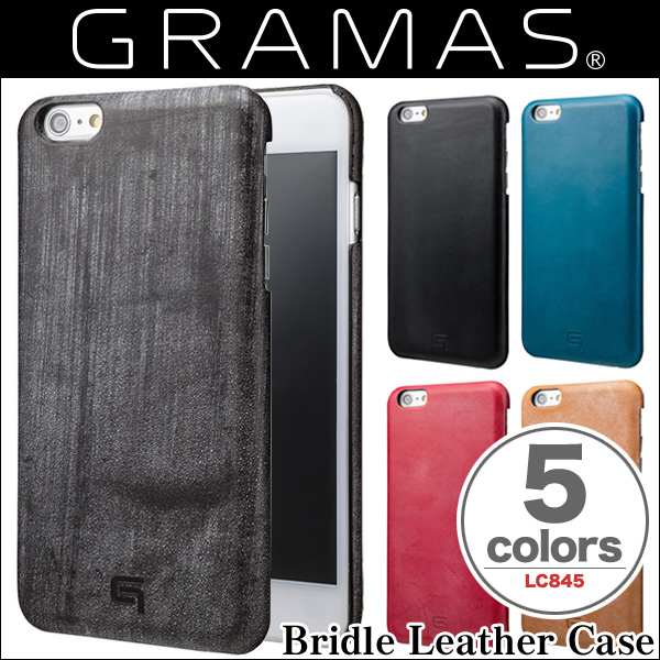 GRAMAS Bridle Leather Case LC845P for iPhone 6s Plus/6 Plus