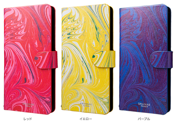 "カラー GRAMAS FEMME Multi Case EveryCa ""Mab"" FLC265 for Smartphone"